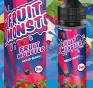 MIXED BERRY E-LIQUID 50ML FRUIT MONSTER