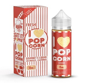 I LOVE POPCORN 80ML E-LIQUID BY MAD HATTER MIX SERIES