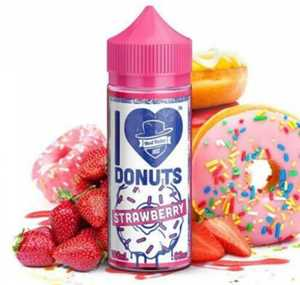 I LOVE DONUTS STRAWBERRY 80ML E-LIQUID BY MAD HATTER MIX SERIES
