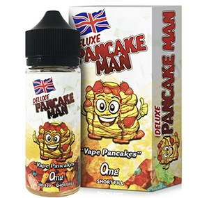 DELUXE PANCAKE MAN 100ML E-LIQUID BY VAPE BREAKFAST CLASSICS
