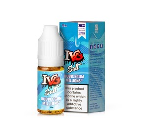 BUBBLEGUM MILLIONS BY I VG SALT 10ML E LIQUID 20MG