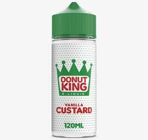 VANILLA CUSTARD 100ML E-LIQUID BY DONUT KING