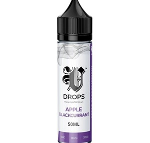 APPLE BLACKCURRANT 50ML E LIQUID V DROPS