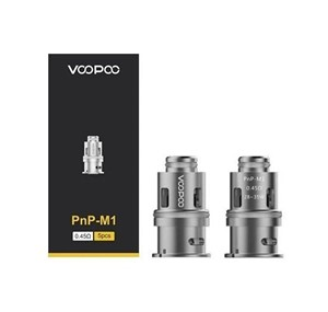 VOOPOO PNP M1 COILS 0.45 OHM (5 PACK)