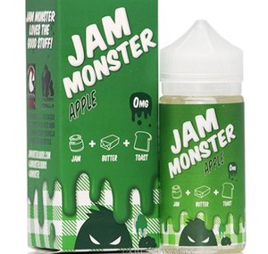 APPLE E-LIQUID 100ML JAM MONSTER