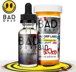 BAD BLOOD E-LIQUID 60ML BY BAD DRIP