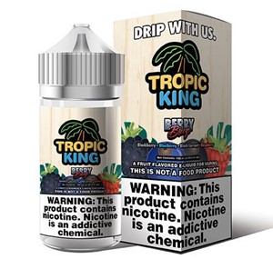BERRY BREEZE 100ML E-LIQUID TROPIC KING RANGE