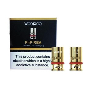 VOOPOO PNP RBA COILS 0.6 OHM (5 PACK)