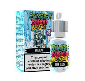 BLUE SLUSH NIC SALT 10ML BY ZOMBIE BLOOD