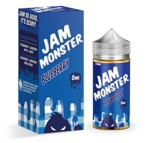 BLUEBERRY E-LIQUID 100ML JAM MONSTER