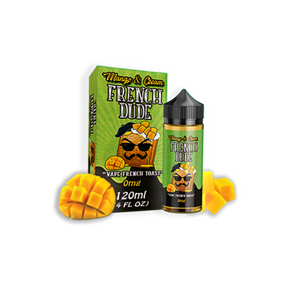 MANGO AND CREAM FRENCH DUDE 100ML E-LIQUID BY VAPE BREAKFAST CLASSICS