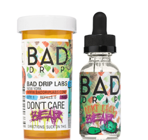 DONT CARE BEAR E-LIQUID 60ML BY BAD DRIP