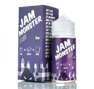 GRAPE E-LIQUID 100ML JAM MONSTER
