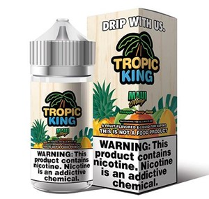 MAUI MANGO 100ML E-LIQUID TROPIC KING RANGE