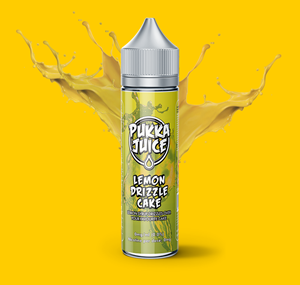 LEMON DRIZZLE CAKE E-LIQUID 50ML BY PUKKA JUICE