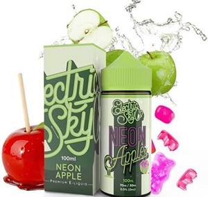 NEON APPLE 100ML E-LIQUID BY ELECTRIC SKY CO