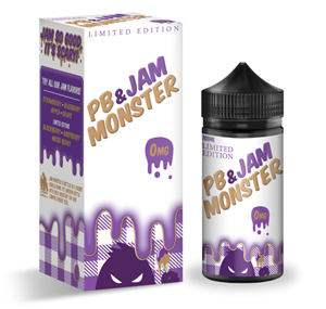 GRAPE E-LIQUID 100ML PB & JAM MONSTER