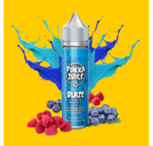 BLAZE NO ICE E LIQUID 50ML BY PUKKA JUICE