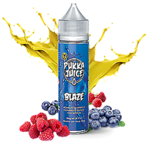 BLAZE E-LIQUID 50ML BY PUKKA JUICE