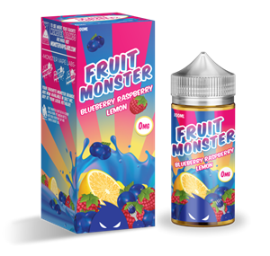 BLUEBERRY RASPBERRY LEMON E-LIQUID 100ML FRUIT MONSTER