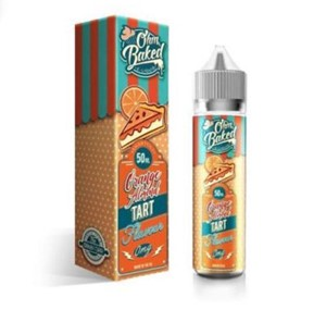 ORANGE ALMOND TART E-LIQUID 50ML OHM BAKED