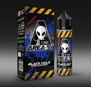 BLACK HOLE 50ML E-LIQUID BY AREA 51