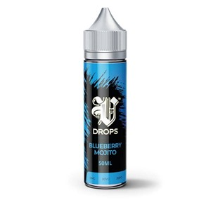 BLUEBERRY MOJITO 50ML E LIQUID V DROPS