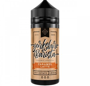 CARAMEL LATTE E-LIQUID 100ML YORKSHIRE BARISTA