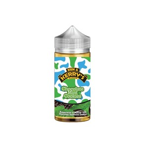 MINT CHOCOLATE COOKIE E LIQUID 100ML BY KEN AND KERRYS