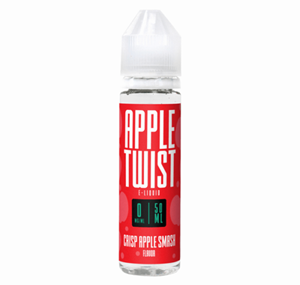 CRISP APPLE SMASH 50ML E-LIQUID BY TWIST LIQUIDS