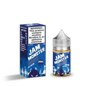 BLUEBERRY JAM NIC SALT 10ML JAM MONSTER
