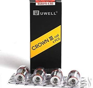 UWELL CROWN 3 COILS 0.5 Ohm ( 4 PACK )