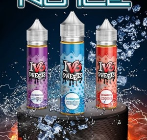 I VG SWEETS NO ICE RANGE E-LIQUID 50ML SHORTFILL