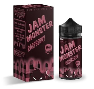 RASPBERRY E-LIQUID 100ML JAM MONSTER