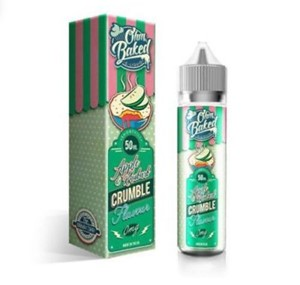 APPLE AND RHUBARB CRUMBLE E-LIQUID 50ML OHM BAKED