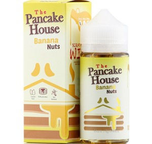 THE PANCAKE HOUSE (BANANA NUTS) 100ML E LIQUID