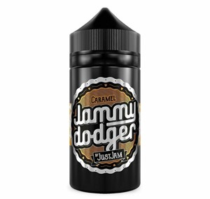 JUST JAM BISCUIT (CARAMEL) 100ML E LIQUID BY JUST JAM