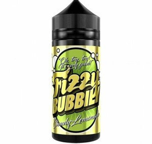 CLOUDY LEMONADE 100ML E LIQUID FIZZY BUBBILY