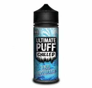 CHILLED (BLUE RASPBERRY) 100ML E LIQUID BY ULTIMATE PUFF