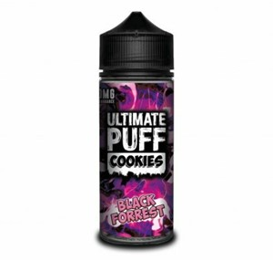 COOKIES (BLACK FORREST) 100ML E LIQUID BY ULTIMATE PUFF