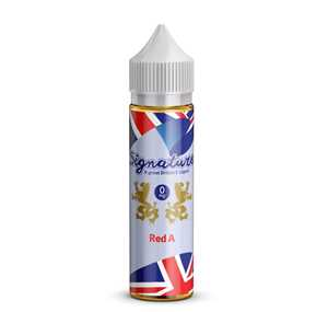 RED A 100ML E-LIQUID BY SIGNATURE