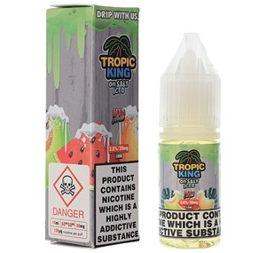 ICED MAD MELON NIC SALT TROPIC KING 10ML