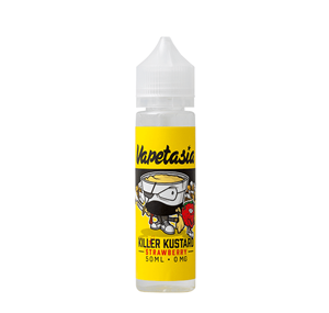 KILLER KUSTARD STRAWBERRY 50ML E LIQUID BY VAPETASIA
