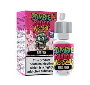 BUBBLEGUM NIC SALT 10ML BY ZOMBIE BLOOD